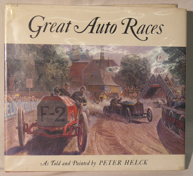 Lot 184-Great Auto Races by Peter Helck