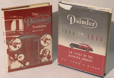 Lot 189-Two Daimler Books