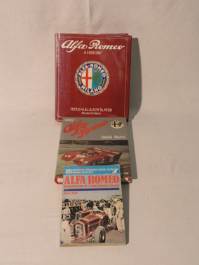 Lot 191-Three Alfa Romeo Books