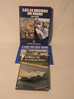 Lot 193-Three Le Mans Books