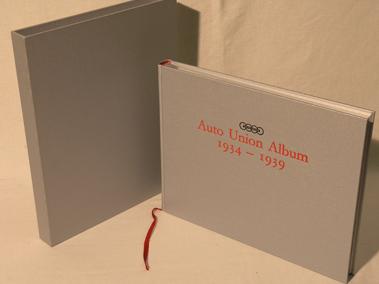 Lot 194-Auto Union Album 1934 - 1939 by Nixon