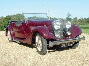 Lot 29-1937 Talbot BI 105 Tourer