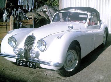 Lot 34-1954 Jaguar XK120 Drophead Coupe