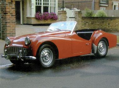 Lot 49-1958 Triumph TR3A