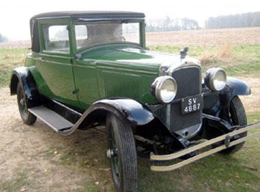 Lot 51-1928 Pontiac Six Doctors Coupe