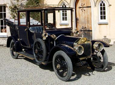 Lot 35-1913 Wolseley 16/20hp Landaulette