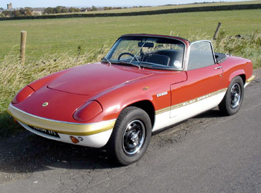 Lot 9-1971 Lotus Elan Sprint Drophead Coupe