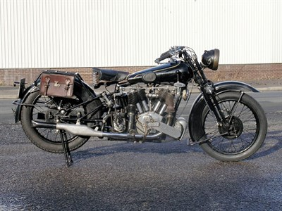Lot 51-1930 Brough Superior SS80
