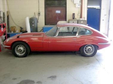 Lot 25-1971 Jaguar E-Type V12 Coupe