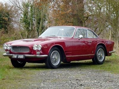 Lot 25-1963 Maserati 3500 GTI Sebring