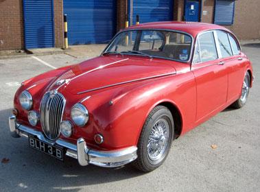 Lot 28-1964 Jaguar MK II 3.8 Litre