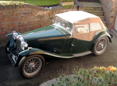 Lot 44-1949 MG TC