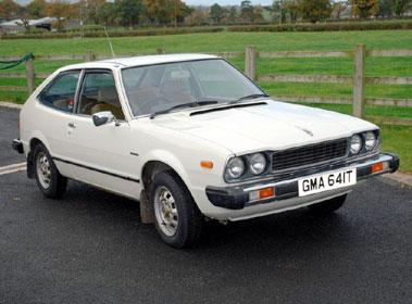 Lot 6-1978 Honda Accord