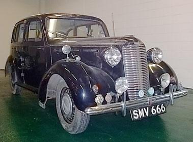 Lot 33-1948 Vauxhall J-Type Saloon