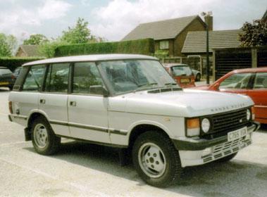 Lot 2-1985 Range Rover Classic