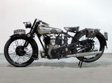 Lot 5-1926 Brough Superior SS80