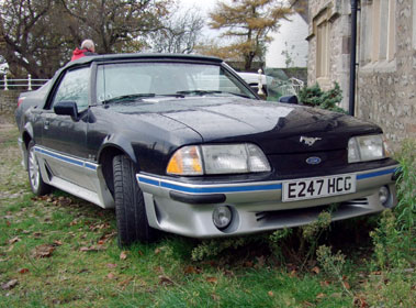 Lot 43-1988 Ford Mustang Convertible