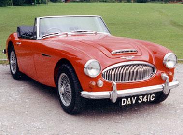 Lot 48-1965 Austin-Healey 3000 MKIII