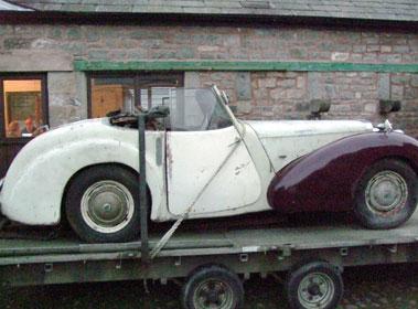 Lot 46-1949 Triumph 2000 Roadster