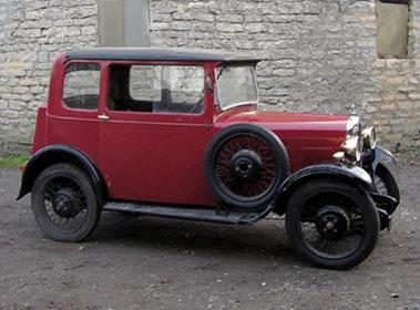 Lot 14-1930 Singer Junior Coupe