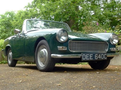 Lot 88 - 1965 Austin-Healey Sprite MKIII