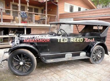 Lot 16-1924 Nash Six Tourer
