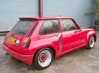 Lot 53-1985 Renault 5 Turbo 2