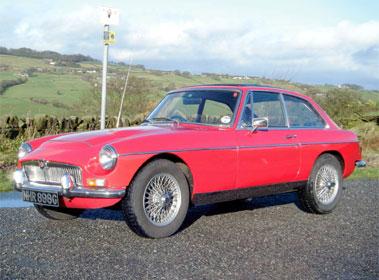 Lot 55-1968 MG C GT