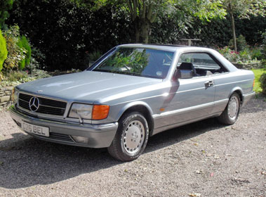 Lot 56-1986 Mercedes-Benz 420 SEC Coupe