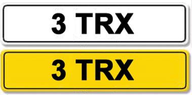 Lot 2-Registration Number 3 TRX