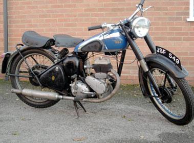 Lot 1-1952 BSA C10
