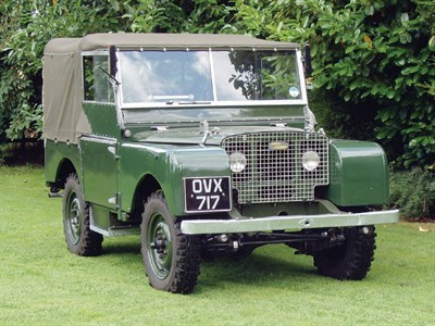 Lot 17-1949 Land Rover 80