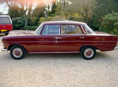 Lot 58-1967 Mercedes-Benz 230 Saloon