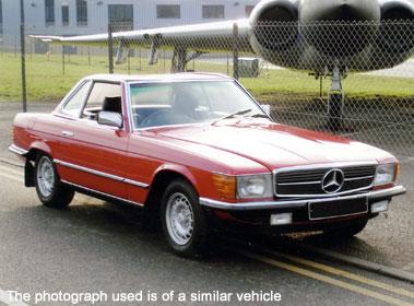 Lot 59-1984 Mercedes-Benz 280 SL