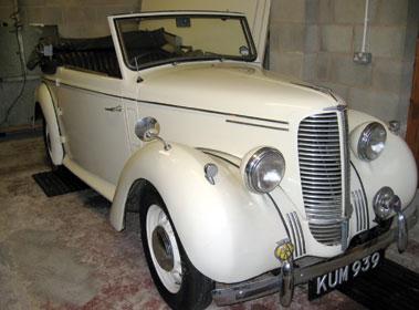 Lot 63-1947 Hillman Minx Phase I Convertible
