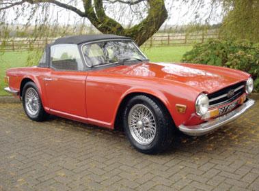 Lot 62-1973 Triumph TR6
