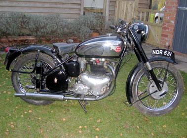 Lot 4-1957 BSA A10 Golden Flash