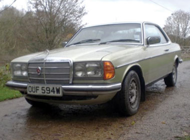 Lot 23-1980 Mercedes-Benz 280 CE