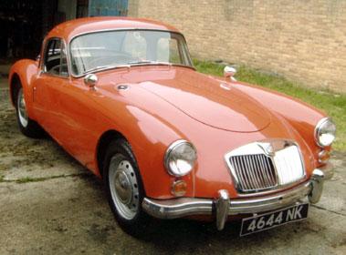 Lot 3-1960 MG A 1600 Coupe