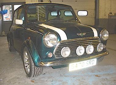 Lot 66-1998 Rover Mini Cooper