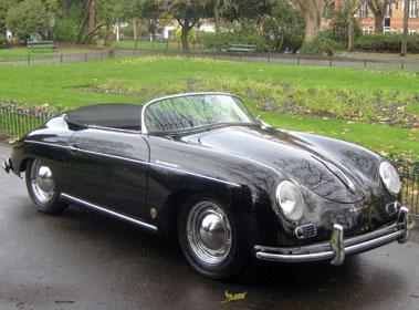 Lot 61-1955 Porsche 356 Speedster