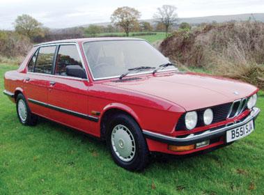 Lot 7-1984 BMW 520i