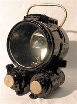 Lot 301-A Self Generating Acetylene Headlamp