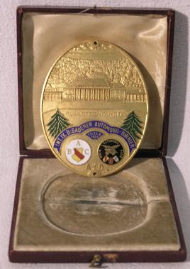 Lot 202-Oval INT X.B. Badener Automobil Turiner-1926 Award