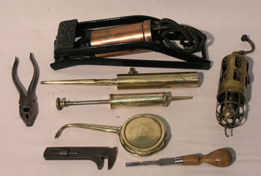 Lot 205-Hand Tools Suitable for a Rolls-Royce