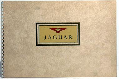 Lot 106-Jaguar Mk V / XK 120 Deluxe Sales Brochure