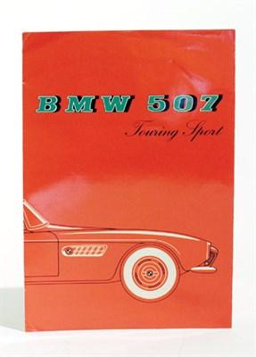 Lot 111-BMW 507 'Touring Sport' Sales Brochure