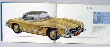 Lot 116-Mercedes-Benz 300SL Roadster Brochure