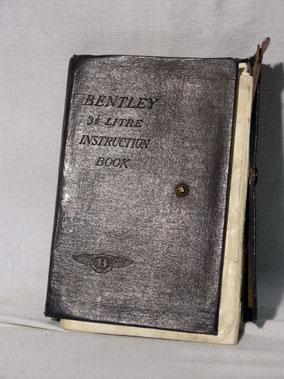 Lot 120-Bentley 3.5 Litre Handbook