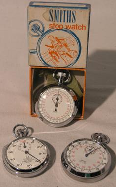 Lot 212-Three Stopwatches